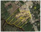 TRACT 3: 5.8 +/- Acres WATERFRONT HOME SITE / MINI-FARM, 245+/- ft. frontage on Clubfoot Creek & 115 ft. on Adams Creek Rd. Conveys w/ Septic Permit