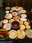 Approximately Fifty (50) Dishes In Various Styles and Sizes and (1) 25th Wedding Anniversary Plate