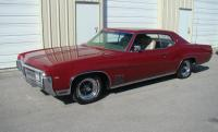 1969 BUICK Wildcat 2 Door Coupe, 430.4 V-8 Original Engine, Automatic Transmission, Electric Windows & Antenna, Nicely Restored, Starts & Runs Great