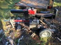 MTD Yard Machine 25 Ton 6HP Quantum XE Log Splitter #24AF550C728, Cutting 25.5 Inches