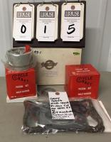 New in Box GARY BANG Piston Kit for 1200 V2 XL Part Number GB-4719, Kit Includes Pistons, Rings, Gasket, and Seals
