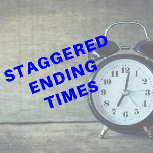 STAGGERED ENDING TIMES FOR THIS AUCTION - 38 LOTS CLOSE EVERY 15 MINUTES, STARTING AT 7:00 PM EST, SUBJECT TO THE AUTO-EXTENDED BIDDING FEATURE.