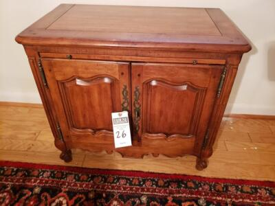Antique Hickory White Server - Antique Hickory White, 2 Door Buffet Sideboard 19th C. Solid Buffet Excellent Condition.