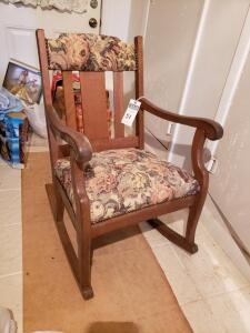 Sharan Rocking Chair - Floral