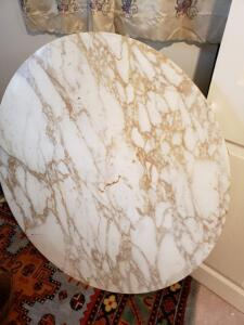 STATUARIETTO Marble Table Top From the SAARINEN Collection