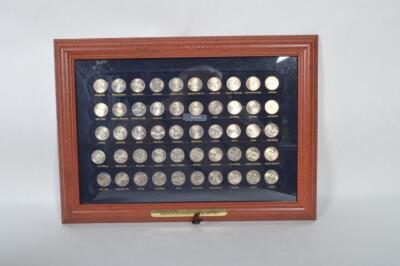 United States 50 State Quarters - 50 Uncirculated State Quarters - Complete Set!