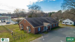 205 N. Walnut Street & 111 E. Nash Street, Spring Hope, NC 27882,  4,000 +/-sq ft Income Producing Commercial Building & Adjacent Corner Parcel, Public Water & Sewer
