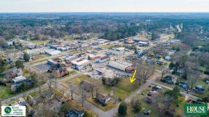 210 N. Pine Street, Spring Hope, NC 27882, Prime Corner Parcel – Excellent Development & Income Producing Potential. 100 ft. x 140 ft. with Public Water & Sewer