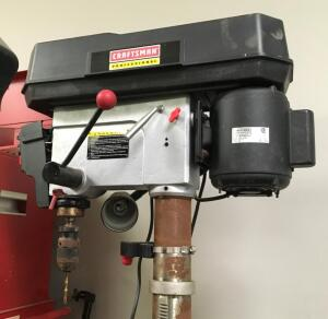 CRAFTSMAN Professional 17 Inch Drill Press with Laser-Trac, 3/4 HP Model Number 152.229010 In Good working Order