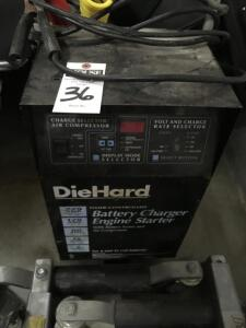 DIE HARD Battery Charger / Engine Starter in Good Working Order