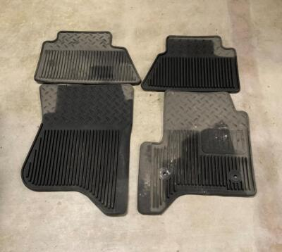 Seven (7) Floor Car Mats Three are for a Toyota Highlander