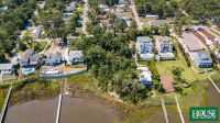UNDER CONTRACT for PRE AUCTION OFFER - 8412 Sound Drive, Emerald Isle, NC 28594, Spectacular Waterfront Home Site on Bogue Sound with 82 ft. of Shoreline, 4 BR Septic Permit, Unsurpassed Views - 14