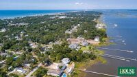 UNDER CONTRACT for PRE AUCTION OFFER - 8412 Sound Drive, Emerald Isle, NC 28594, Spectacular Waterfront Home Site on Bogue Sound with 82 ft. of Shoreline, 4 BR Septic Permit, Unsurpassed Views - 22