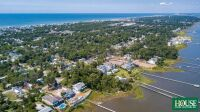 UNDER CONTRACT for PRE AUCTION OFFER - 8412 Sound Drive, Emerald Isle, NC 28594, Spectacular Waterfront Home Site on Bogue Sound with 82 ft. of Shoreline, 4 BR Septic Permit, Unsurpassed Views - 23