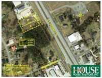 263 US Hwy 70 W., Havelock, NC 28532, 0.54 +/- Acre Prime Commercial Parcel with 100 ft. Hwy Frontage on US Hwy 70, Zoned HC, Water & Sewer, AADT 31,000 - 6