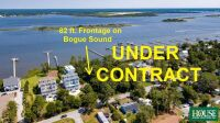 UNDER CONTRACT for PRE AUCTION OFFER - 8412 Sound Drive, Emerald Isle, NC 28594, Spectacular Waterfront Home Site on Bogue Sound with 82 ft. of Shoreline, 4 BR Septic Permit, Unsurpassed Views