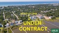 UNDER CONTRACT for PRE AUCTION OFFER - 8412 Sound Drive, Emerald Isle, NC 28594, Spectacular Waterfront Home Site on Bogue Sound with 82 ft. of Shoreline, 4 BR Septic Permit, Unsurpassed Views - 2