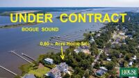 UNDER CONTRACT for PRE AUCTION OFFER - 8412 Sound Drive, Emerald Isle, NC 28594, Spectacular Waterfront Home Site on Bogue Sound with 82 ft. of Shoreline, 4 BR Septic Permit, Unsurpassed Views - 4