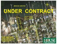 UNDER CONTRACT for PRE AUCTION OFFER - 8412 Sound Drive, Emerald Isle, NC 28594, Spectacular Waterfront Home Site on Bogue Sound with 82 ft. of Shoreline, 4 BR Septic Permit, Unsurpassed Views - 8