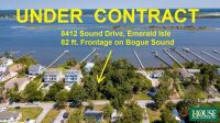 UNDER CONTRACT for PRE AUCTION OFFER - 8412 Sound Drive, Emerald Isle, NC 28594, Spectacular Waterfront Home Site on Bogue Sound with 82 ft. of Shoreline, 4 BR Septic Permit, Unsurpassed Views - 7