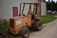 CASE 584E CONSTRUCTION KING Rough Terrain Forklift, CUMMINS 4BT diesel engine, OROPS, 3728 hours showing, 21 ft. mast height, runs good –SELLER RESERVES RIGHT TO RETAIN & USE CASE FORKLIFT FOR LOAD-OUT ON FRIDAY & SATURDAY, OCTOBER  23 & 24. BUYER MAY TAK - 7