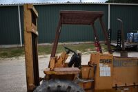 CASE 584E CONSTRUCTION KING Rough Terrain Forklift, CUMMINS 4BT diesel engine, OROPS, 3728 hours showing, 21 ft. mast height, runs good –SELLER RESERVES RIGHT TO RETAIN & USE CASE FORKLIFT FOR LOAD-OUT ON FRIDAY & SATURDAY, OCTOBER  23 & 24. BUYER MAY TAK - 14