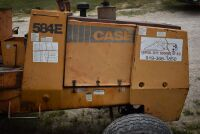 CASE 584E CONSTRUCTION KING Rough Terrain Forklift, CUMMINS 4BT diesel engine, OROPS, 3728 hours showing, 21 ft. mast height, runs good –SELLER RESERVES RIGHT TO RETAIN & USE CASE FORKLIFT FOR LOAD-OUT ON FRIDAY & SATURDAY, OCTOBER  23 & 24. BUYER MAY TAK - 17