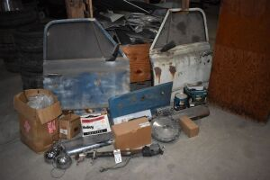 PARTS for 1968 CHEVROLET  C-10 Pickup - includes driver's & passenger doors, fully assembled w/ mirrors, windows, door handles-both interior & exterior