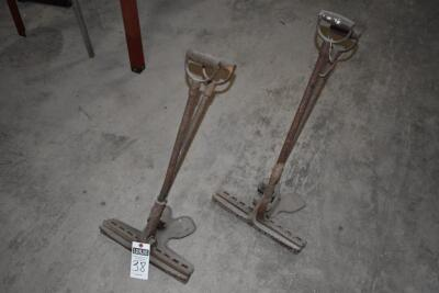 Two vintage Metal Roofing Seamers - working order. PLEASE VIEW ALL PHOTOS