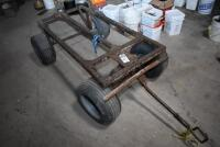 Large 4 wheel Insulation Cart, also good Utility Cart. PLEASE VIEW ALL PHOTOS