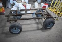 Large 4 wheel Insulation Cart, also good Utility Cart. PLEASE VIEW ALL PHOTOS - 3