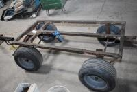 Large 4 wheel Insulation Cart, also good Utility Cart. PLEASE VIEW ALL PHOTOS - 6