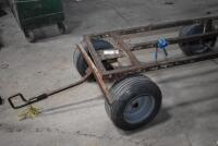 Large 4 wheel Insulation Cart, also good Utility Cart. PLEASE VIEW ALL PHOTOS - 7