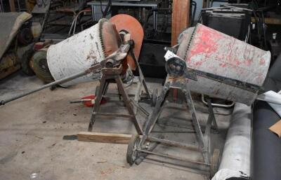 Two Cement Mixers - one working, other for parts. PLEASE VIEW ALL PHOTOS
