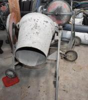 Two Cement Mixers - one working, other for parts. PLEASE VIEW ALL PHOTOS - 3