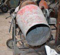 Two Cement Mixers - one working, other for parts. PLEASE VIEW ALL PHOTOS - 6
