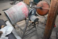 Two Cement Mixers - one working, other for parts. PLEASE VIEW ALL PHOTOS - 8