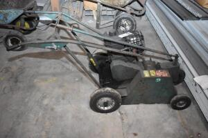 REEVES Roof Cutter-gas powered - working order but needs tune up. PLEASE VIEW ALL PHOTOS