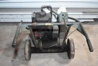 REEVES Roof Cutter-gas powered - working order but needs tune up. PLEASE VIEW ALL PHOTOS - 2