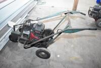 REEVES Roof Cutter-gas powered - working order but needs tune up. PLEASE VIEW ALL PHOTOS - 3