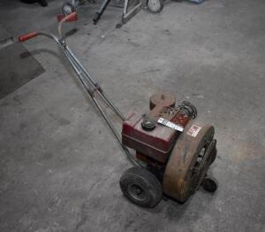 Gas powered Leaf Blower, needs carburetor tune up or possibly new one. PLEASE VIEW ALL PHOTOS