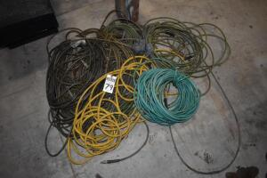Large assortment of pneumatic hoses. PLEASE VIEW ALL PHOTOS
