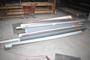 Large assortment of misc. sheet metal. PLEASE VIEW ALL PHOTOS