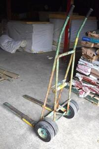 Heavy duty Insulation/Construction material hand cart - dual wheels. PLEASE VIEW ALL PHOTOS