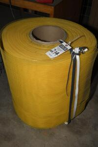 roll of air directional matting for vented roof system