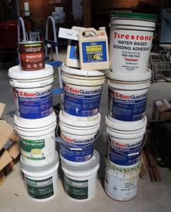 assorted Roofing Bonding Adhesive, Rubber Roofing Treatment