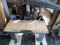 DEWALT Radial Arm Saw with Stand - Model # 3573 Serial # 4310063; 5-HP 230 Volt 3-Phase PLEAVE VIEW ALL PHOTOS
