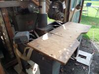 DEWALT Radial Arm Saw with Stand - Model # 3573 Serial # 4310063; 5-HP 230 Volt 3-Phase PLEAVE VIEW ALL PHOTOS - 22