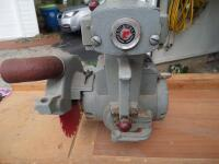 ROCKWELL Delta Super 900 Radial Arm Saw 1-1/2HP, 220V. SR#:CE6674 Working Height - Approx. 34 in. Power Stroke - Pneumatic Cylinder, 6.50 in. - 5