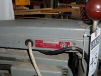 ROCKWELL Delta Super 900 Radial Arm Saw 1-1/2HP, 220V. SR#:CE6674 Working Height - Approx. 34 in. Power Stroke - Pneumatic Cylinder, 6.50 in. - 28